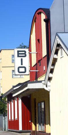 Movie theatre in Raseborg, Finland