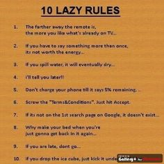lazy rule quotes - photo #3