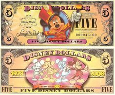 2008 $5 Aurora: Sleeping Beauty Disney Money, Disney Diy, Disney Stuff, Disney Parks, Disney Pixar, Walt Disney, Cartoon Template, Mickey Mouse Images, Minnie Mouse
