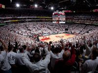 MeetingLouisville.com   KFC Yum! Center- University of Louisville Basketball
