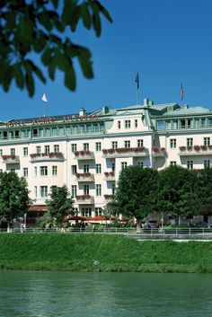 Hotel Sacher Salzburg, Austria is the FHRNews #luxury #hoteloftheday for Tuesday, November 3.