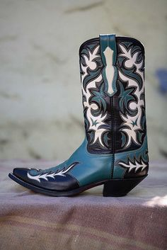 Custom Cowboy Boot by Morado by Jennifer June, via Flickr