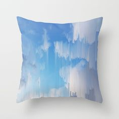Buy Glitch in the Sky Throw Pillow by cafelab. Worldwide shipping available at Society6.com. Just one of millions of high quality products available.