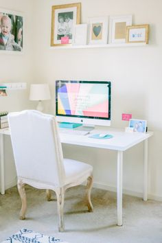 High and low: http://www.stylemepretty.com/living/2015/03/19/30-of-the-prettiest-offices-ever/
