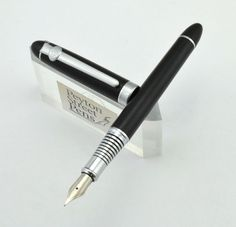 Duke 96A-3 Fountain Pen - Black Textured Finish, Fine (New in Box) - Pens - Asia | Vintage Fountain Pens - Parker, Sheaffer, Waterman