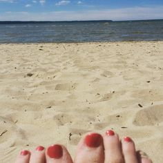 At the beach in Tallinn.