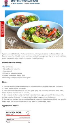 Turkey Power Bowl | Cooking & Baking Ideas | Pinterest | Power Bowl ...