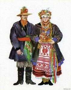 Возник вопрос о украинском национальном костюме. Когда то нашлась интересная подборка фото на тему...
