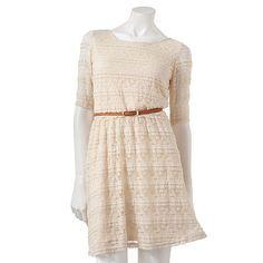 $29.99 @ Kohls  Rewind Lace Dress