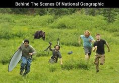 Behind the scenes with National Geographic.