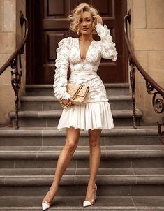Looks de Blake Lively no filme Um Pequeno Favor Blake Lively looks in the movie A Little Favor Boho Dress, Lace Dress, White Dress, Blake Lively, Spring Dresses, Short Dresses, Maxi Dresses, Formal Dresses, Look Fashion