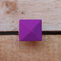 Pyramid ring- polymer clay