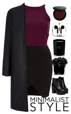 """Maroon Soul"" by deans-angel ❤ liked on Polyvore featuring Hervé Gambs, Tom Daxon, PhunkeeTree and Bobbi Brown Cosmetics"