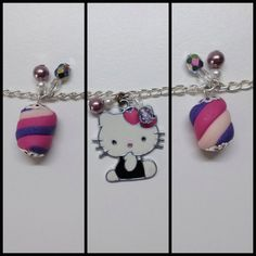 Marshmallow bracelet by MarcyBijoux on Etsy, €6.00