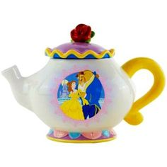 Belle and Beast teapot