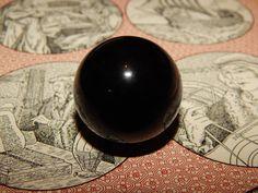 Genuine ONYX Sphere  Onyx Orb Sphere  30 mm Gemstone by esoTERRAca