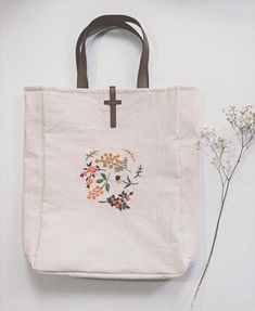 Blue Dragonfly Tote Park or Beach Bag 14 38 x 14 Gift For Her Cotton Tote Bag Beige School Bag Reusable Grocery Bag Shopping Bag