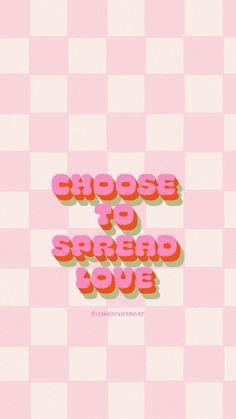 Spread Love Phone Wallpaper