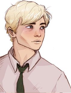 Draco by lila-selle Fanart Harry Potter, Draco Malfoy Fanart, Carte Harry Potter, Scorpius Malfoy, Harry Potter Drawings, Harry Potter Love, Harry Potter Universal, Harry Potter Fandom, Harry Potter Characters