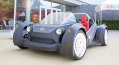 The Strati (Italian for layers) is the world's first carbon fiber, 3D printed, fully-electric car.