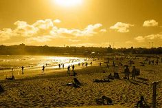 Christmas destinations you may not have considered: Bondi Beach. Image by Cowboy Dave