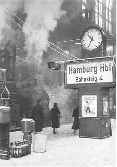 Hamburg Hauptbahnhof, 1951