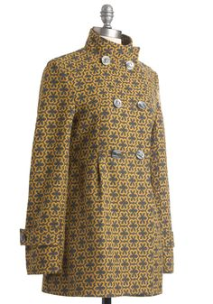retro coat-would LOVE this one.