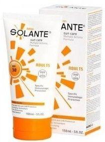 Güneşe karşı sahip olduğu güçlü ve geniş filtrelerle cilde koruyan,güneşin neden olduğu yaşlılık belirtilerine karşı anti age özellik gösteren #Solante #Güneş #Koruyucu #Losyon 150 ml SPF 30 ürününü kullanabilirsiniz.Diğer ürünler için www.portakalrengi.com adresini ziyaret edebilir detaylı bilgi edinebilirsiniz.