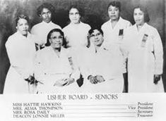Usher Ministry or Usher Board: There are male and female ushers; often female…