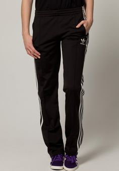 The black and white FIREBIRD tracksuit bottoms from Adidas - a classic that just keeps on giving. adidas Originals FIREBIRD - Tracksuit bottoms - black/white for Free delivery for orders over Tracksuit Bottoms, Adidas Pants, Passion For Fashion, Adidas Originals, Trousers, Rock, My Style, Christmas, Clothes