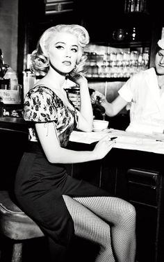 Amber Heard, another from Guess. Hate this brand and these ads aren't exactly original, but Amber looks stunning.