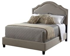 Darla Upholstered Bed - Go-To Furniture on Joss & Main