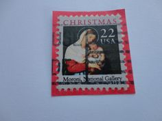 # 6 Old Christmas Postage Stamp