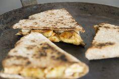 Des Quesadillas le matin ? Pour un petit déjeuner équilibré, original et délicieux.
