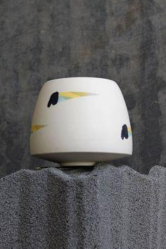 Ceramic Vase, Modern Contemporary, Sunglasses Case, Ceramics, Cream, Unique, Awesome, Creative, Stuff To Buy
