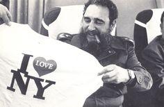 1979:  Fidel Castro Leaves New York City