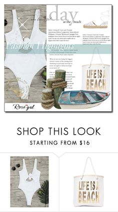"""""""Life is on beach"""" by my1clothes ❤ liked on Polyvore featuring Nasty Gal and Maiden Lane"""