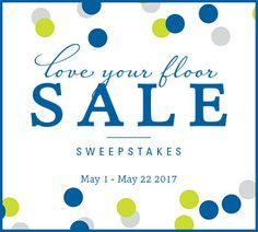 I just entered @Mohawkflooring #LoveYourFloor Sale Sweepstakes for a chance to win one of two great prizes!