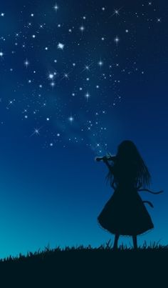 Play the starry sky ..