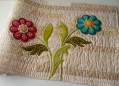 Get these flowers for Mom! Team Vintage USA by Heidi Marschall on Etsy