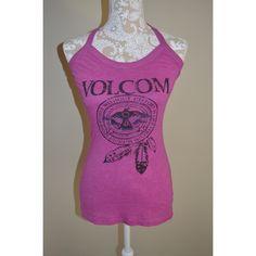 Cute Volcom Stone halter top Super cute Volcom halter top! Worn once- in great condition! Has built in bra! Volcom Tops Tank Tops