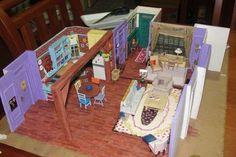 """""""Friends"""" TV show. Monica's apartment."""