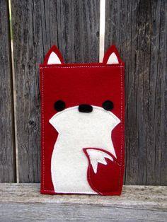 woodland fox iPhone case gadget case ipod ipad by HeartFeltbyTelah, $16.00
