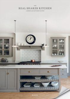 Shaker Kitchen Brochure Devol Kitchens Kitchens In 2019 Devol Kitchen Sets, New Kitchen, Kitchen Decor, Kitchen Lamps, Kitchen Lighting, Design Kitchen, Country Kitchen Diner, Kitchen Mantle, Kitchen Grey