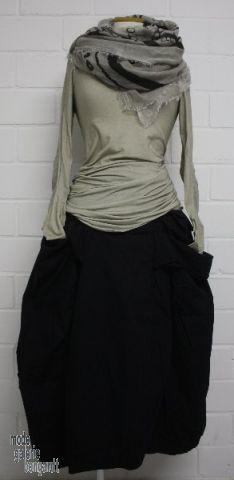 "www.modegalerie-bongardt.de - rundholz mode, rundholz black label, rundholz dip Rundholz black label Winter 2015 Basis-Longshirt ""cotton-str..."