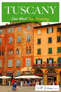 One week Tuscany trip itinerary. See the most beautiful towns an drive the most scenic routes in Tuscany, Italy in just 7 days.