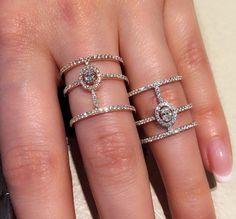 Messika rings ❤️