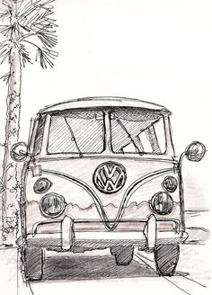 Vw Bus Art Vw Bus vw bus art vw bus vw bus vw bus camper vw bus interior vw bus drawing vw bus painting vw bus tattoo vw bus art vw bus photoshoot Vw Bus Art Vw Bus What Makes a Supercar a Supercar The term supercar appears to have first hellip Cool Art Drawings, Pencil Art Drawings, Art Drawings Sketches, Tattoo Drawings, Car Drawing Pencil, Bus Drawing, Painting & Drawing, Bus Art, Cute Car Accessories