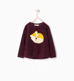 Animal sweatshirt - Sweatshirts - Girl - KIDS - SALE | ZARA United Kingdom