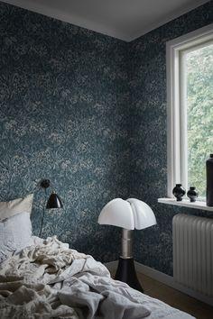 Indigo Blue, Wall Lights, Wallpaper, Home Decor, Design, Alternative, Appliques, Decoration Home, Room Decor